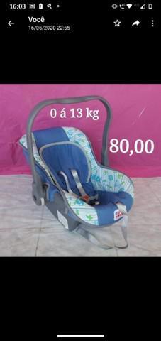 Bebê conforto e andador, ambos da tuty baby