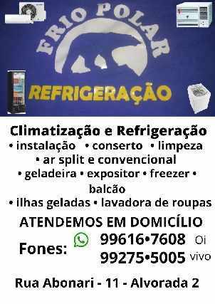 Frio polar refrigeração