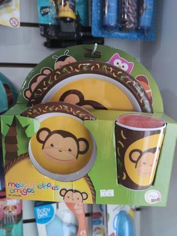 Kit infantil refeição bem divertido para a sua criança