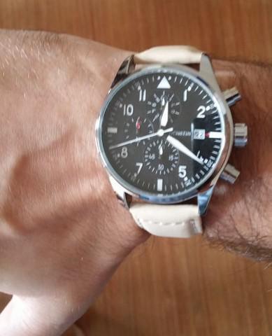 Ochstin outdoor - relógio masculino couro