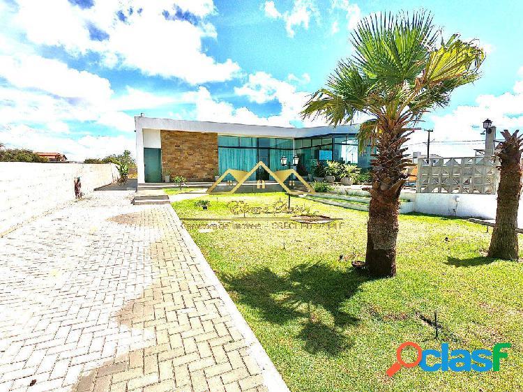 Casa alto padrão com 4 suítes - praia de carapibus/ pb