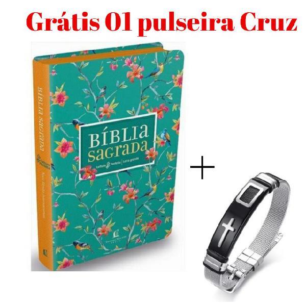 Bíblia sagrada letra grande grátis uma pulseira
