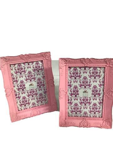 Porta retratos rosa