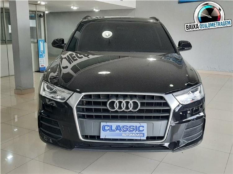Audi q3 1.4 tfsi attraction s tronic preto 2018/2019 - são