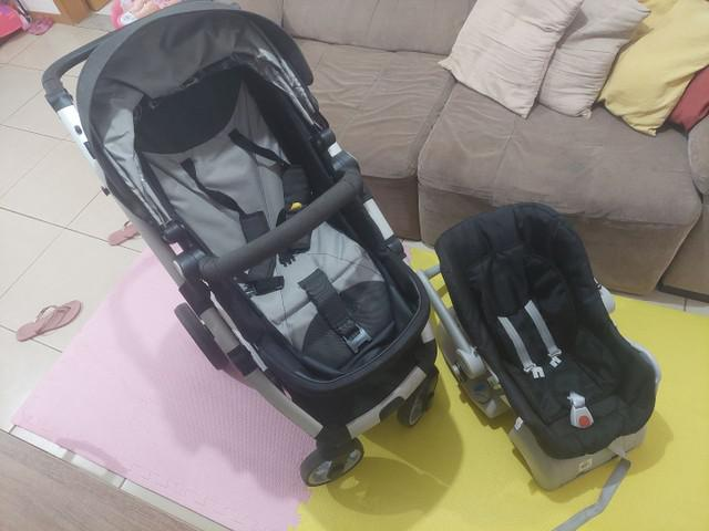 Carrinho 3x1 - carrinho / bebê conforto / moisés