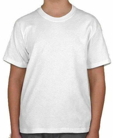 Kit 10 camisas infantis 100% algodão ideais para