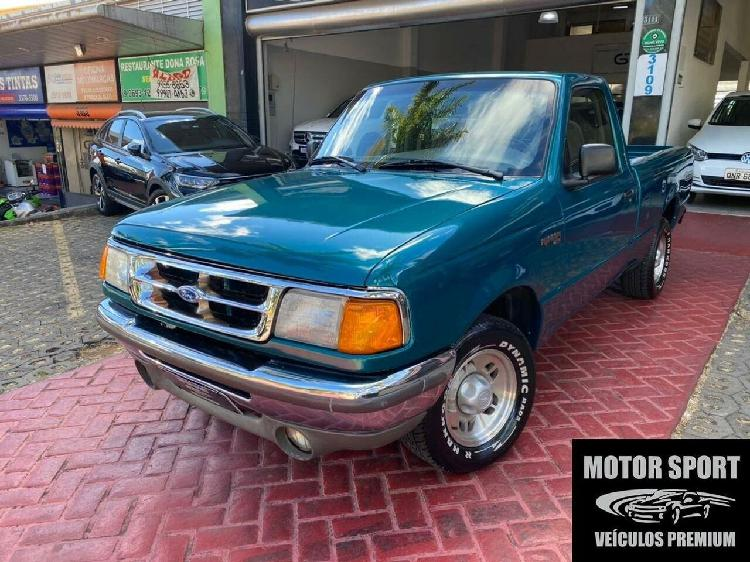 Ford ranger 4.0 stx cab est 12v prata 1995/1995 - curitiba