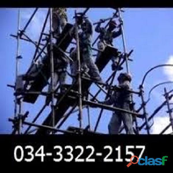 Montagem de andaimes para obras industriais rio verde go 034 99148 3676
