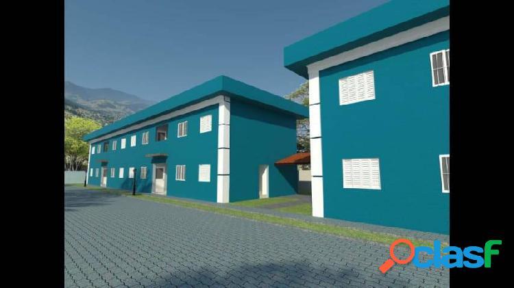 Litoral norte, 2 dorm. entrada facilitada, 58 m² - boracéia