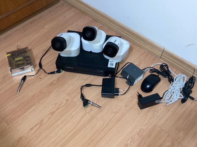 Câmera de segurança intelbras kit completo