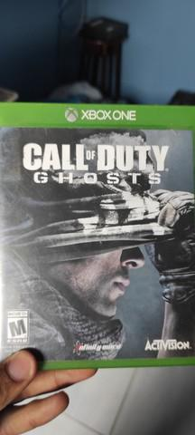 Jogo call of duty ghost para xbox