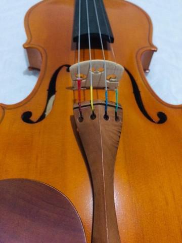 Violino novo luthier d. c. gomes, modelo 4/4