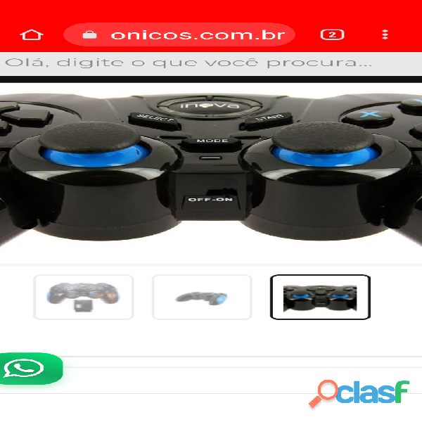 Controle Wireless PC Windows Android PS1 PS2 PS3 2
