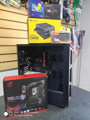 Pc gamer core i7 10th 16gb m.2 1tb gtx 1050 -parcelamento e