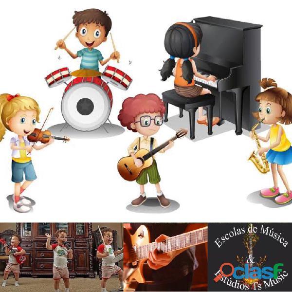 Aulas de Teoria musical para Crianças 1