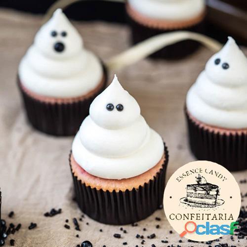 Cupcake de Fantasma em Chantilly   Essence Candy