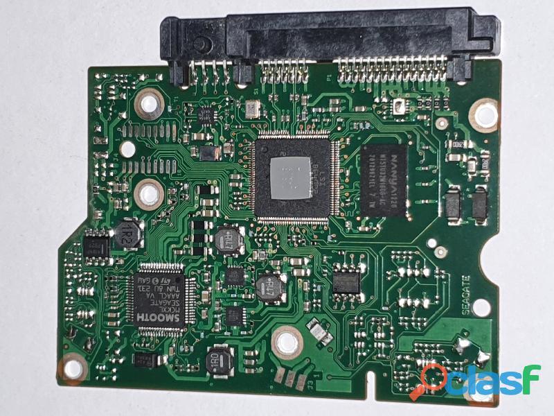 Placa logica hd 3 tb st3000dm001   fw: cc4b   cod 2605b