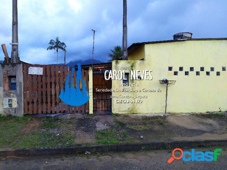 Posse-casa 6 dormitórios edícula lado praia caraguava peruíbe
