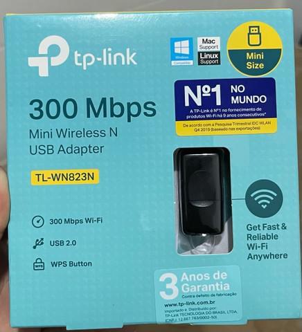 Adaptador usb wireless mini tl-wn823n 300mbps tp-link