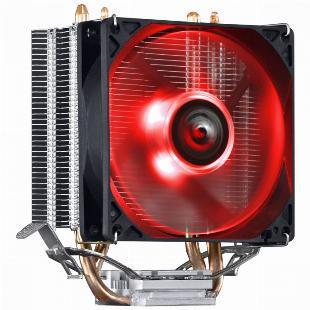 Cooler para processador kz2 led vermelho (intel/amd) - tdp