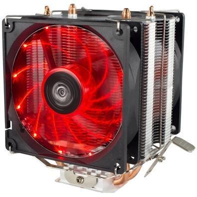 Cooler p/ processador universal hoopson led red amd/intel