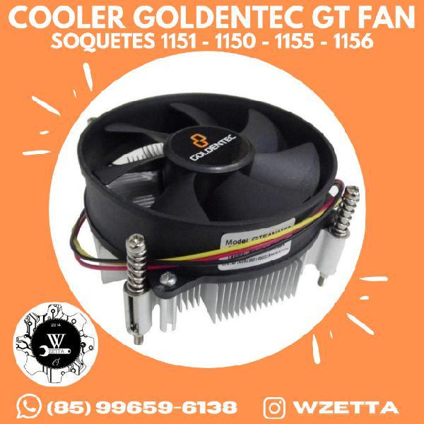 Cooler processador goldentec para soquetes 1151 / 1150 /