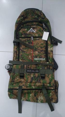Mochila camping militar exercito grande
