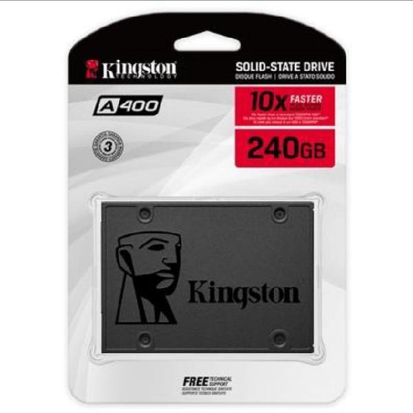 Ssd kingston 240gb (seminovo 97% de saúde)