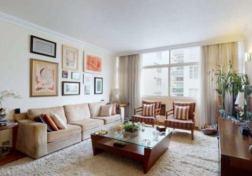 Apartamento com 3 quartos na rua padre joão manuel, 758,
