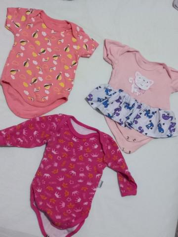 Lote de roupa bebe menina 26 peças