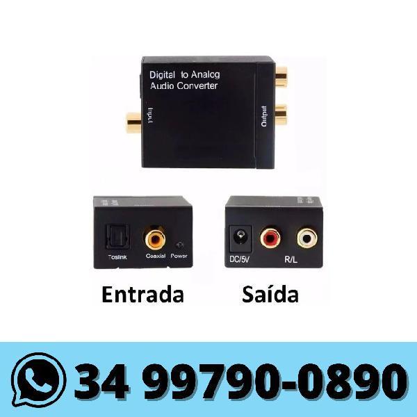 Conversor audio digital para analogico rca