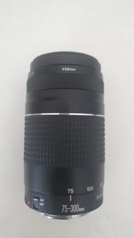 Lente canon 75-300mm f/4-5.6 iii autofoco