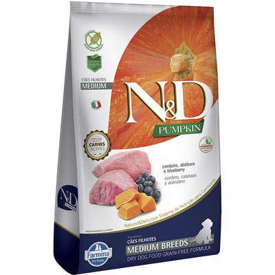 Ração Farmina N&D Pumpkin Carnes Nobres Cordeiro para