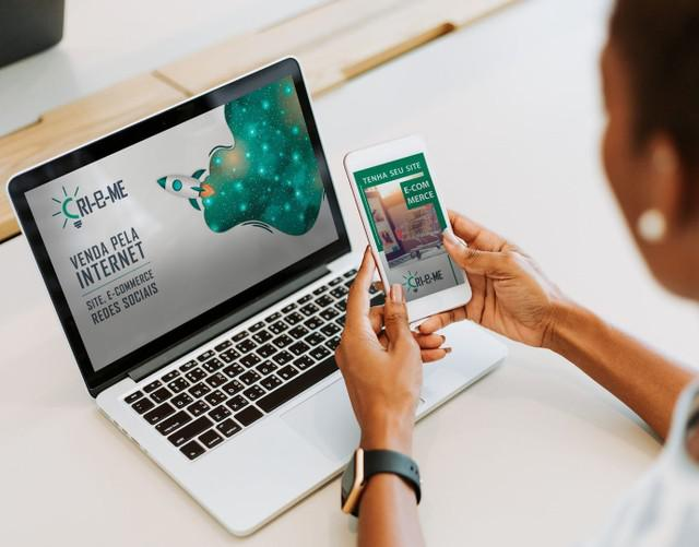 Site e loja virtual com design profissional e seo google
