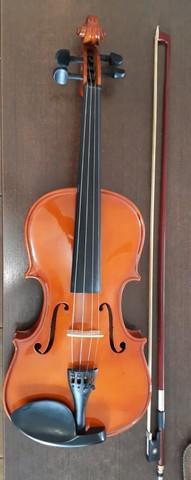 Violino acústico - arco breu - cavalete mdf - estojo
