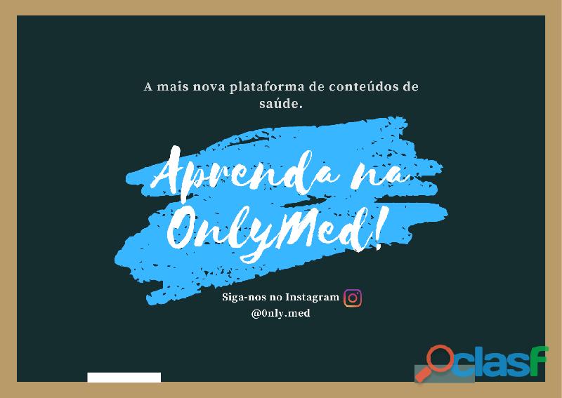 Aprenda na OnlyMed! 2