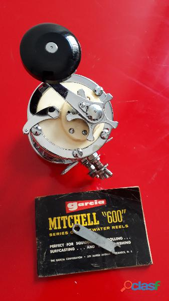 Carretilha para pesca Mitchell   Garcia 624   Vintage   Made in France 2