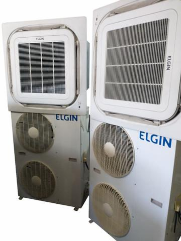 2 ar condicionados split k7 de 48.000 btus - garantia de 3