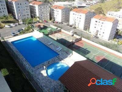 Apto em cotia/sp - 2dorm 1vaga + piscina,portaria,playground e portaria!