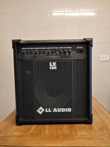 Caixa amplificada lx100 - ll áudio