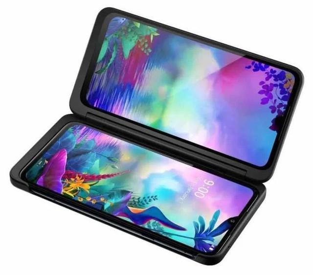 Lg g8x thinq 128gb dual tela