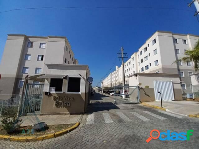Apartamento para locação no residencial bella vista em votorantim