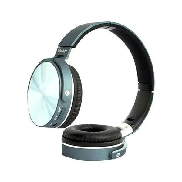 Fone de ouvido 950 everest bluetooth preto radio mp3 envio