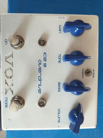 Pedal vox, over drive joe satriani ice-9