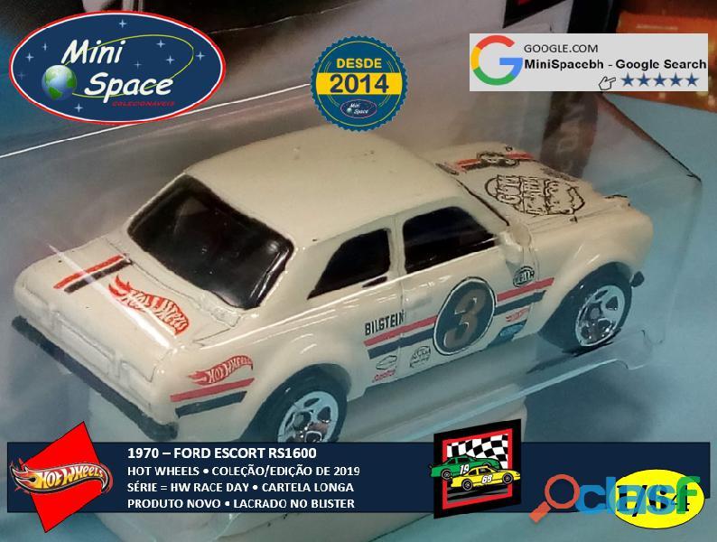 Hot Wheels 1970 Ford Escort RS1600 (Cartela Longa) 1/64 3