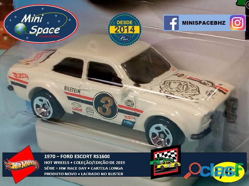 Hot Wheels 1970 Ford Escort RS1600 (Cartela Longa) 1/64 4