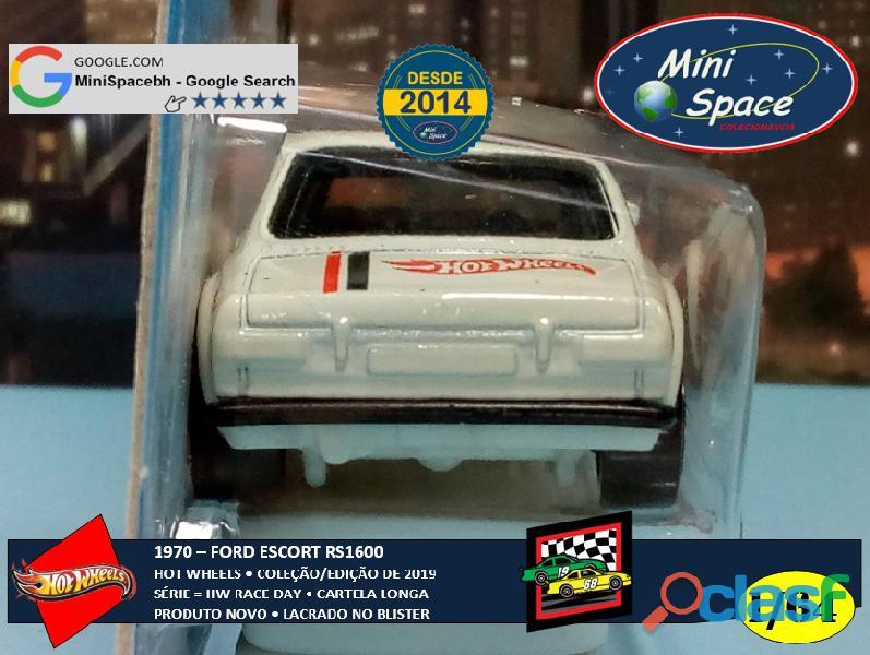 Hot Wheels 1970 Ford Escort RS1600 (Cartela Longa) 1/64 5