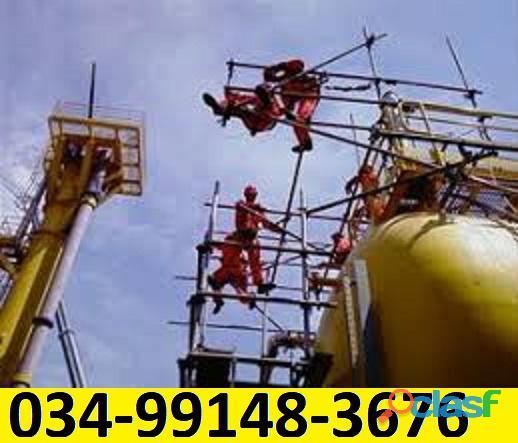 Locação e montagem de andaimes industriais campo grande ms 034 99148 3676 ou 034 3322 2157