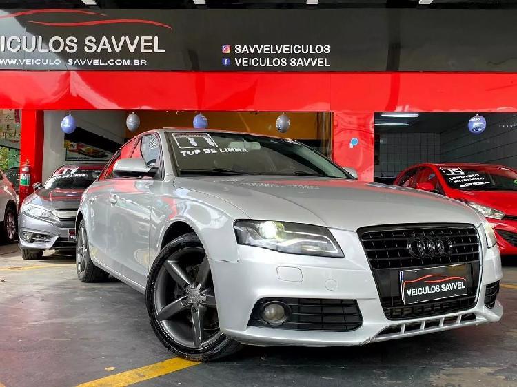 Audi a4 2.0 ambiente prata 2011/2011 - são caetano do sul