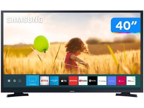 "Smart TV 40"" LED Full HD Samsung UN40T5300AGXZD - VA 60Hz"